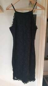 Ladies New Look little black dress Size 10...