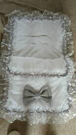 Handmade Romany Pram set