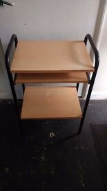 Desk/computer table, very good condition £15.00