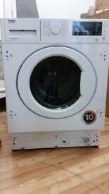 Beko washing machine and dryer WDIR7543101