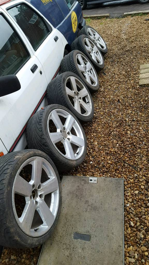 """Audi RS6 18"""" Alloys 5x112 Set of 6 & Good Tyres! ** Offers **"""