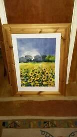 Stunning wooden framed prints