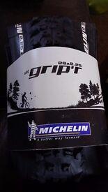Michelin Wild Grip'r Mountain bike tyres