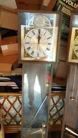 2 x Grandmother clocks