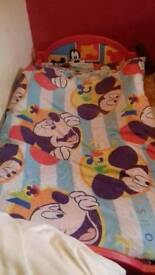 Micky mouse toddler bed