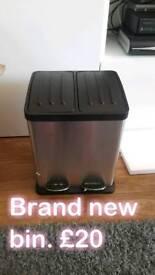 Brand new dual bin