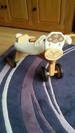 I'M Toys Paddie Rider Lambie trike