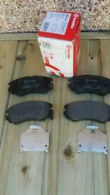 HYUNDAI, KIA- BREMBO P30018 Front brake pads