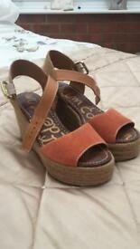 WEDGES SHOES NEVER WORN