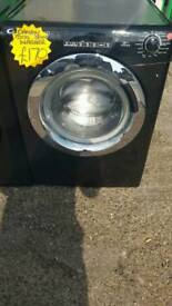 CANDY 9KG LOAD 1500 SPIN WASHING MACHINE IN BLACK