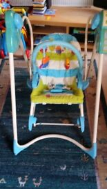 Fisher price 3 stages swing and rocker