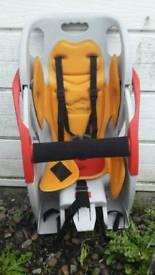 Co-pilot child's bike seat