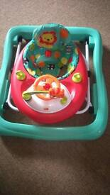 Play mat and baby Walker