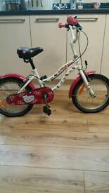 Girl's Hello Kitty bike
