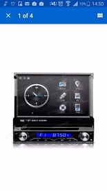 Xtrons single din car stereo and gps (android 4.4)