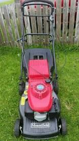 "Mountfield honda self propelled petrol lawnmower 17""cut"