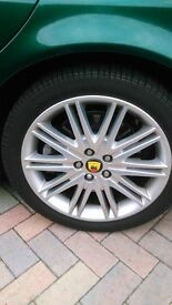 "18"" Jaguar Alloy Wheels"