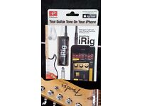 AmpliTube iRig for Iphone / iPod / iPad - plug in your guitar