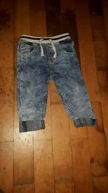 Boys 12-18 months jeans