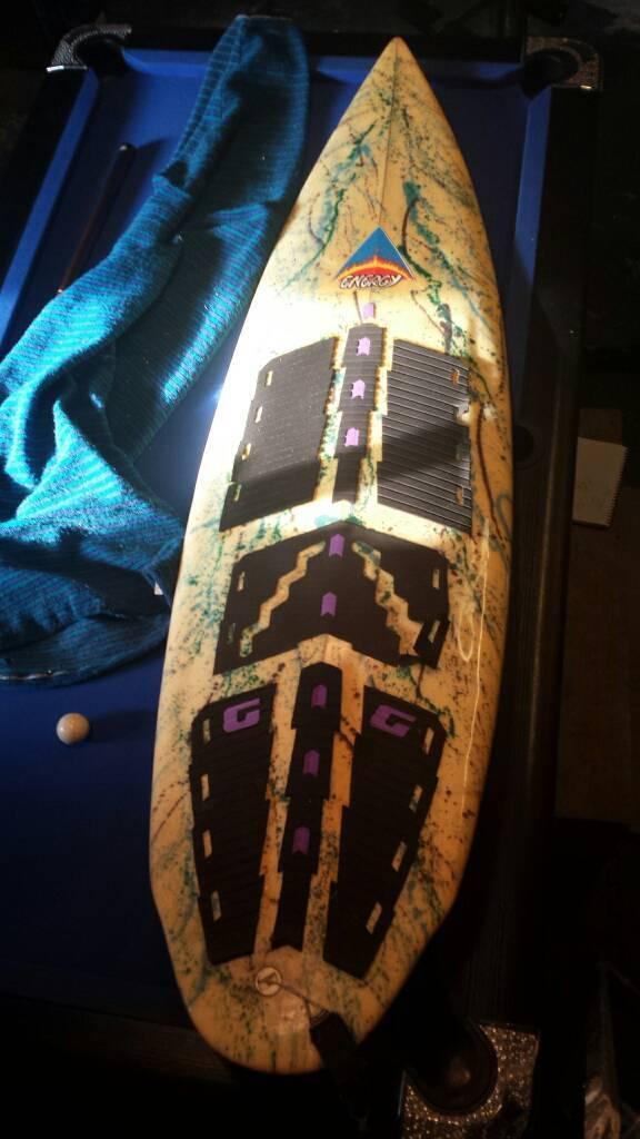 Surf board retro