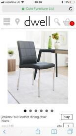 Dining table & 4 chairs - Dwell