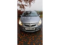 '08 Low mileage Vauxhall Corsa MOT to March 18. New Clutch fitted Jan '17. Good reliable vehicle.