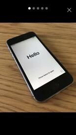 iPhone 5s space grey 16 GB (EE)