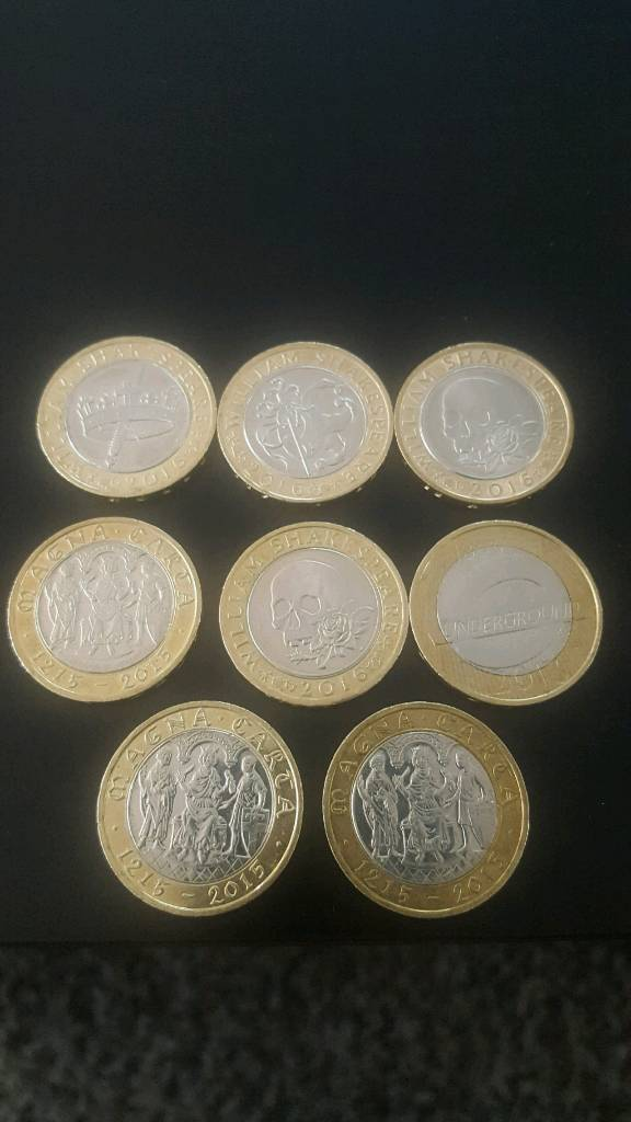 £2 2 pound coins collectable not kew gardens