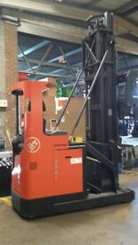 2008 BT VRE150 Electric Forklift / Reach Truck for Auction