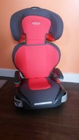 Gracco car seat hardly used, 15 36 kg