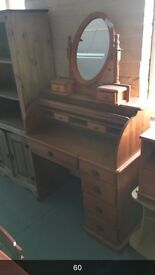 WOODEN DRESSING TABLE - PLUS WAREHOUSE FULL OF FURNITURE