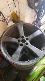 5x100 5 spoke alloys