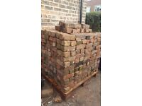 500 Victorian imperial bricks. Palleted £200