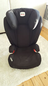 Britax Kidfix ISOFIX Group 2-3 Booster Seat (Max/Black - can deliver