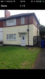 Three bedroom large semi detached family home