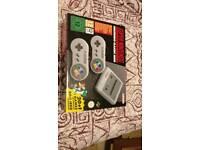 BRAND NEW SNES Classic Mini+reciept
