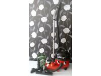 Henry hoover with tools plus new box bags and turbo head