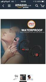 Water proof earphones