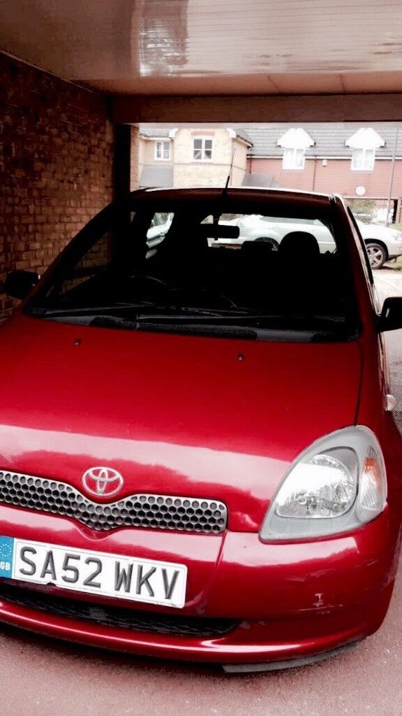 (52) 2003 Toyota Yaris 1.0 3dr Colour Collection Model, NEW MOT, Taxed, Manual
