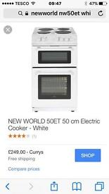 New world et50 electric cooker