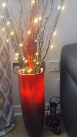 Vase with lights
