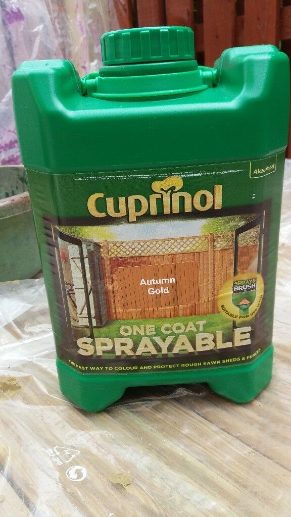 CUPRINOL SHED/FENCE PAINT (SPRAYABLE) 5L