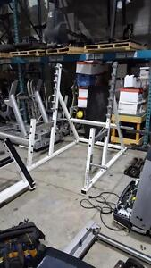 Half rack /squat rack commercial