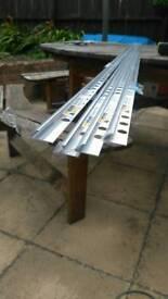 Aluminium tile trims
