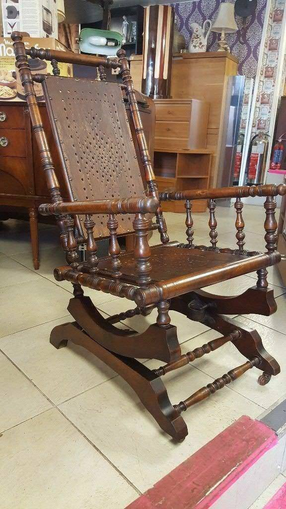 Amazing American Victorian Rocking Chair In Anniesland Glasgow Gumtree Beatyapartments Chair Design Images Beatyapartmentscom