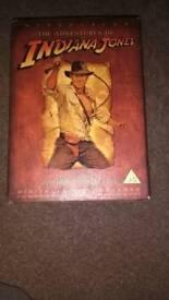 Indiana Jones dvd boxset £10!