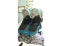 City mini double buggy, in good condition only used for 1 year.