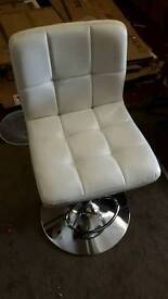 New 5 White Barstools £35 Each or 5 for £150