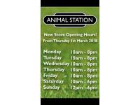RAW food & natural treats Supplied From Animal Station in Linwood PA33HR