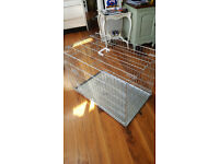 VivaPet Large Foldable Steel Dog Cage